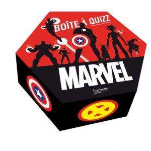 La boite a quizz-Marvel cover