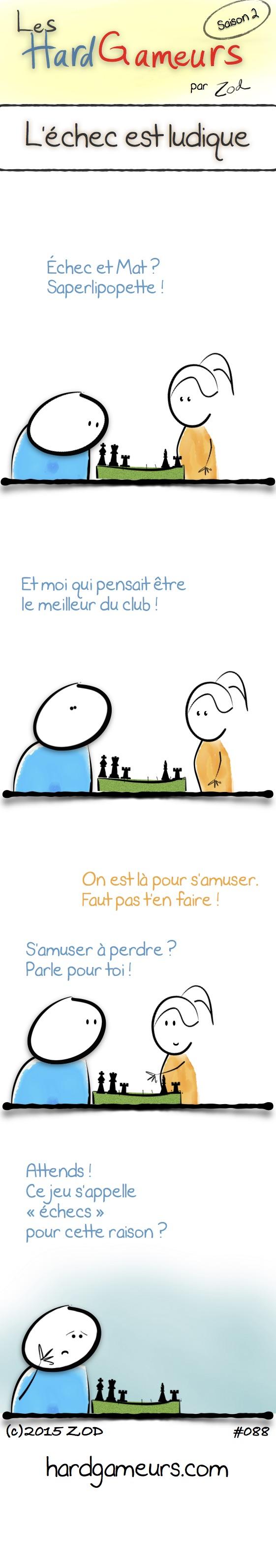 Les HardGameurs jouent aux échecs