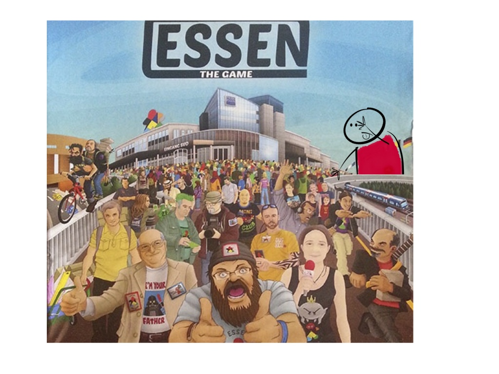 essen the game avec les Hard gameurs
