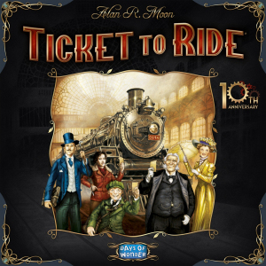 Hard Gameurs jouent à Ticket to Ride